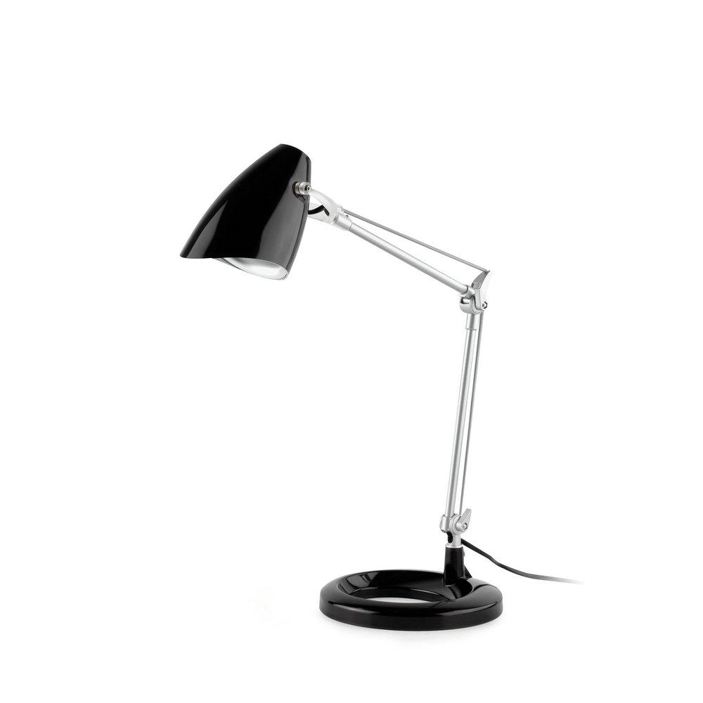 Ariel Table Lamp 1L E14 11w Black