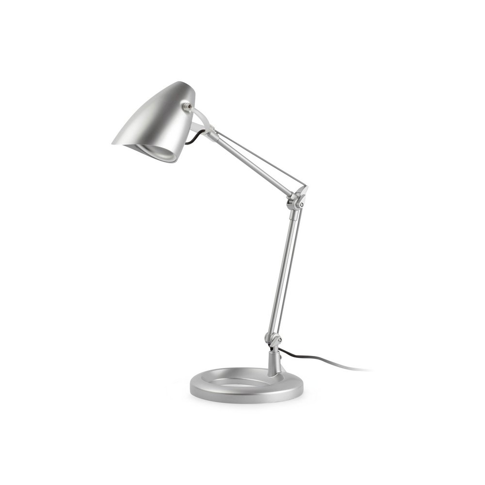 Ariel Table Lamp 1L E14 11w Grey