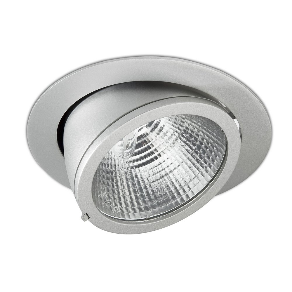 Pascal Downlight abatible C dimmable Tm PGJ5 12º 20/35w Grey