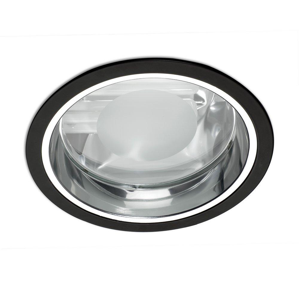 Atom Downlight 1xG24d-3 26w magnético Black