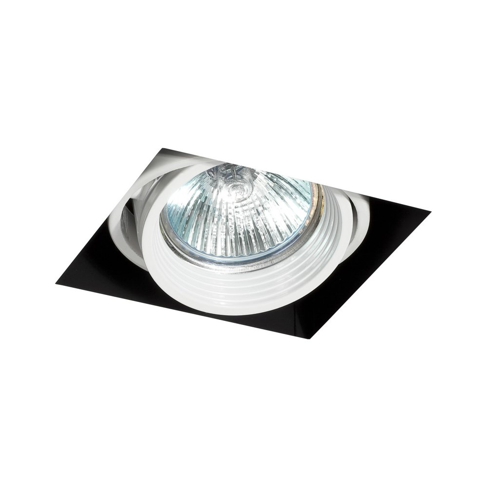 Falcon Recessed adjustable white without Framework 1xGU10 50W