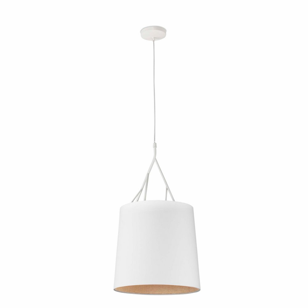 Tree Pendant Lamp 1L E27 100w white