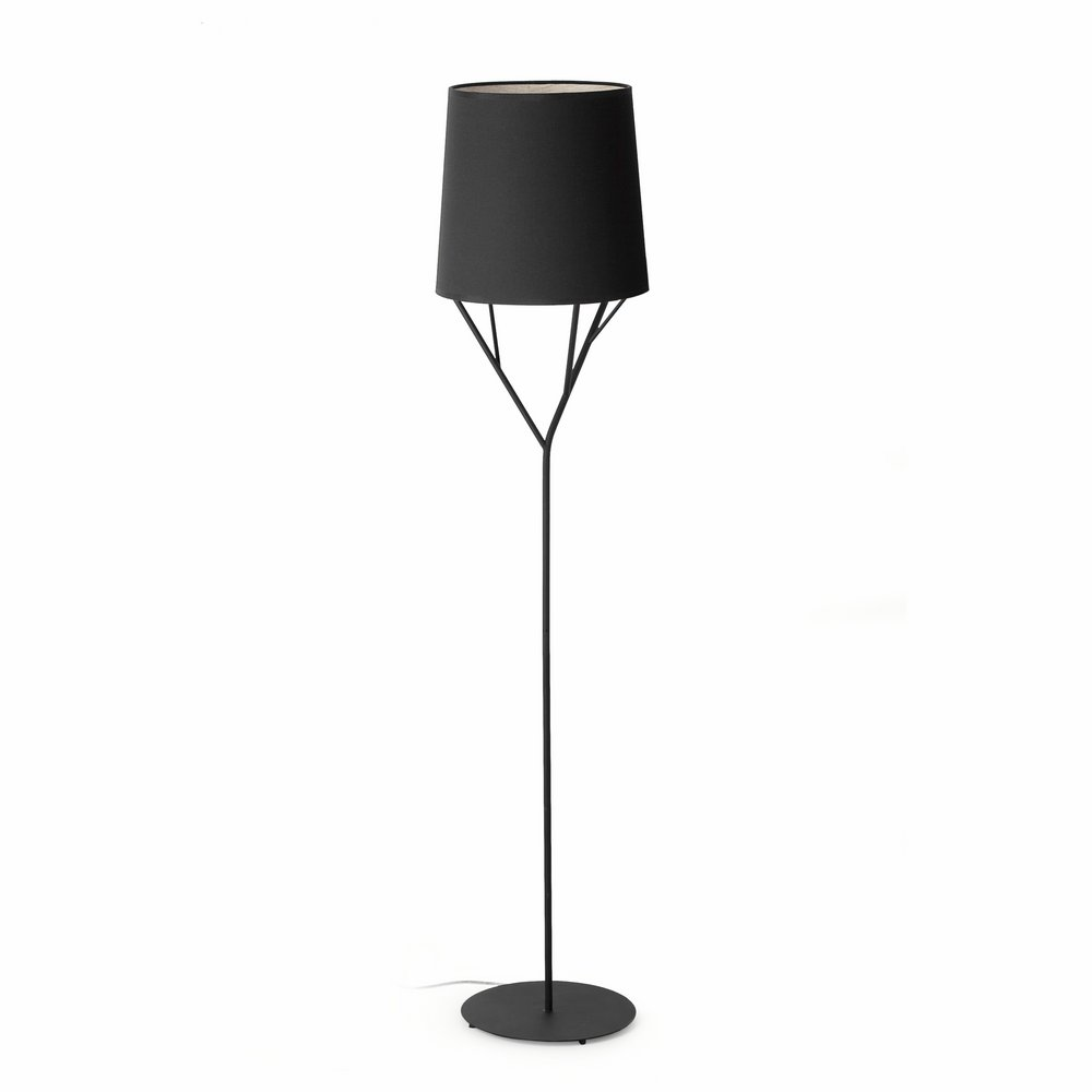 Tree lámpara de Pie 1L E27 60w negro