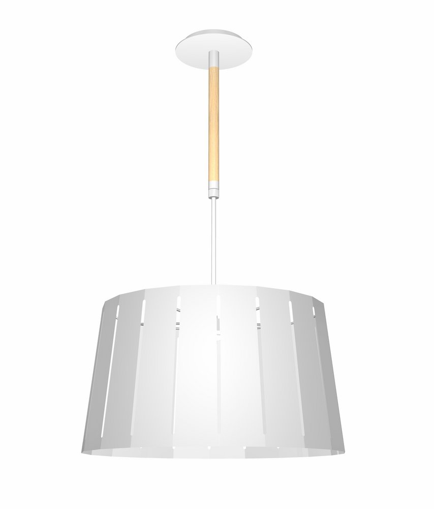 Mix Pendant Lamp white1 E27 60w 445MM