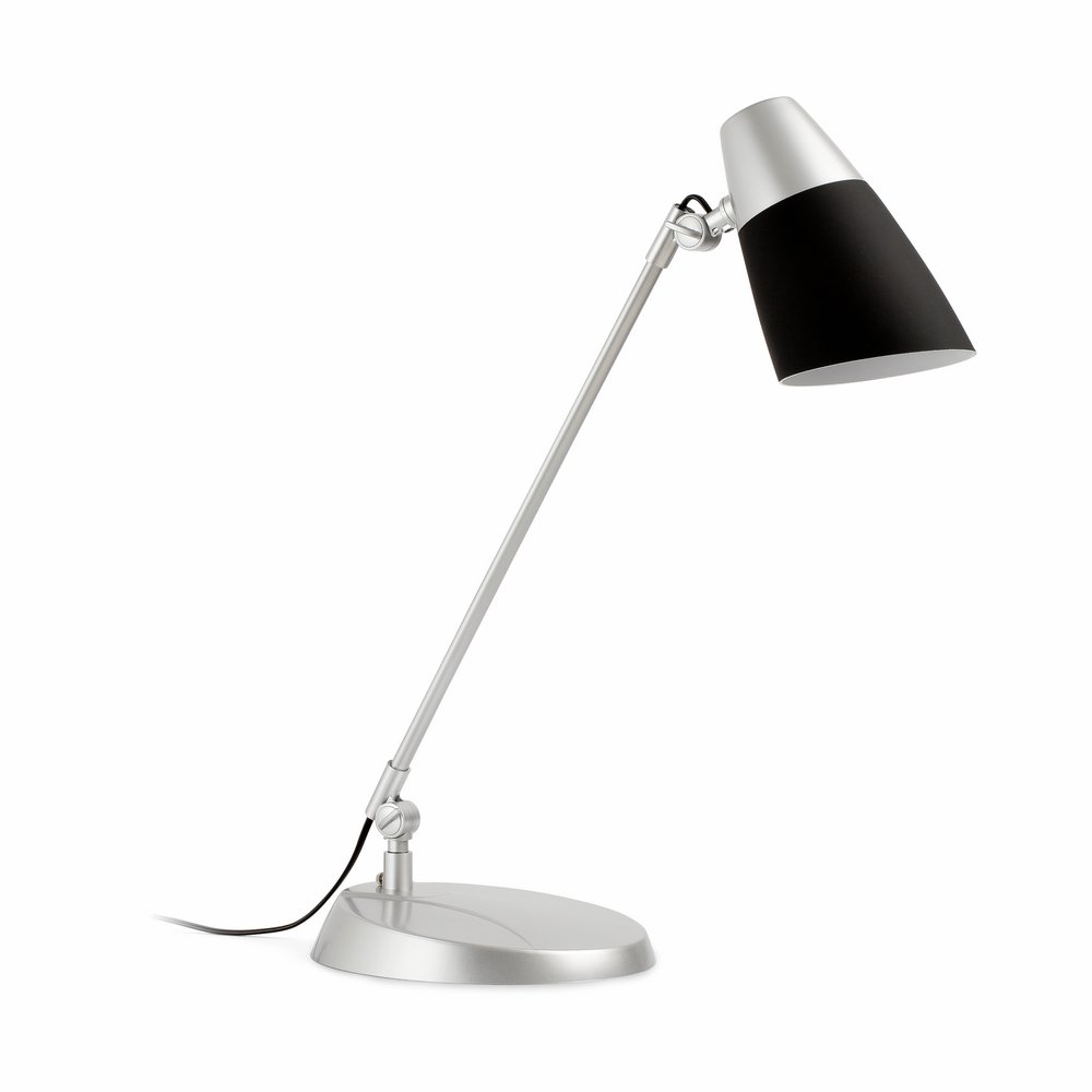 Leo Balanced-arm lamp Table Lamp 1xE27 15w Black