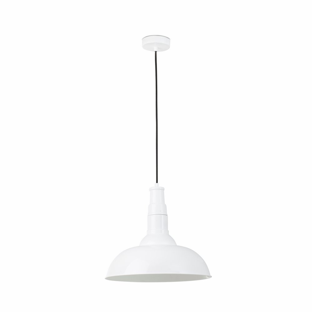 Bart Pendant Lamp white E27 60w