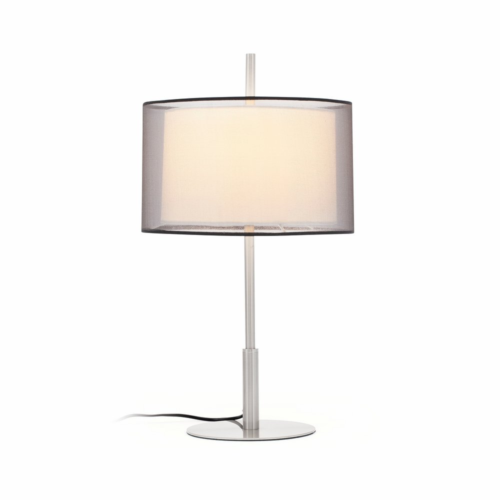 Saba Table Lamp níquel Matt E27 40w H60