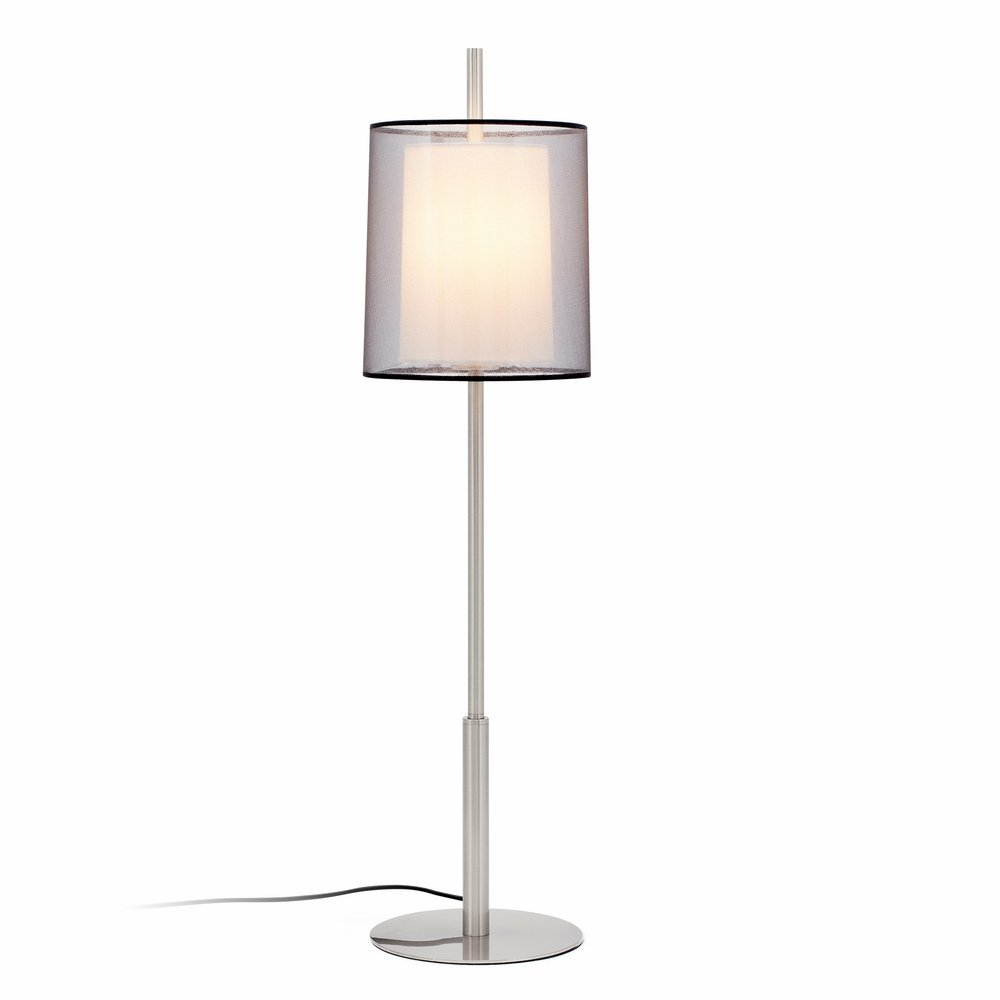 Saba Table Lamp níquel Matt E27 40w H84