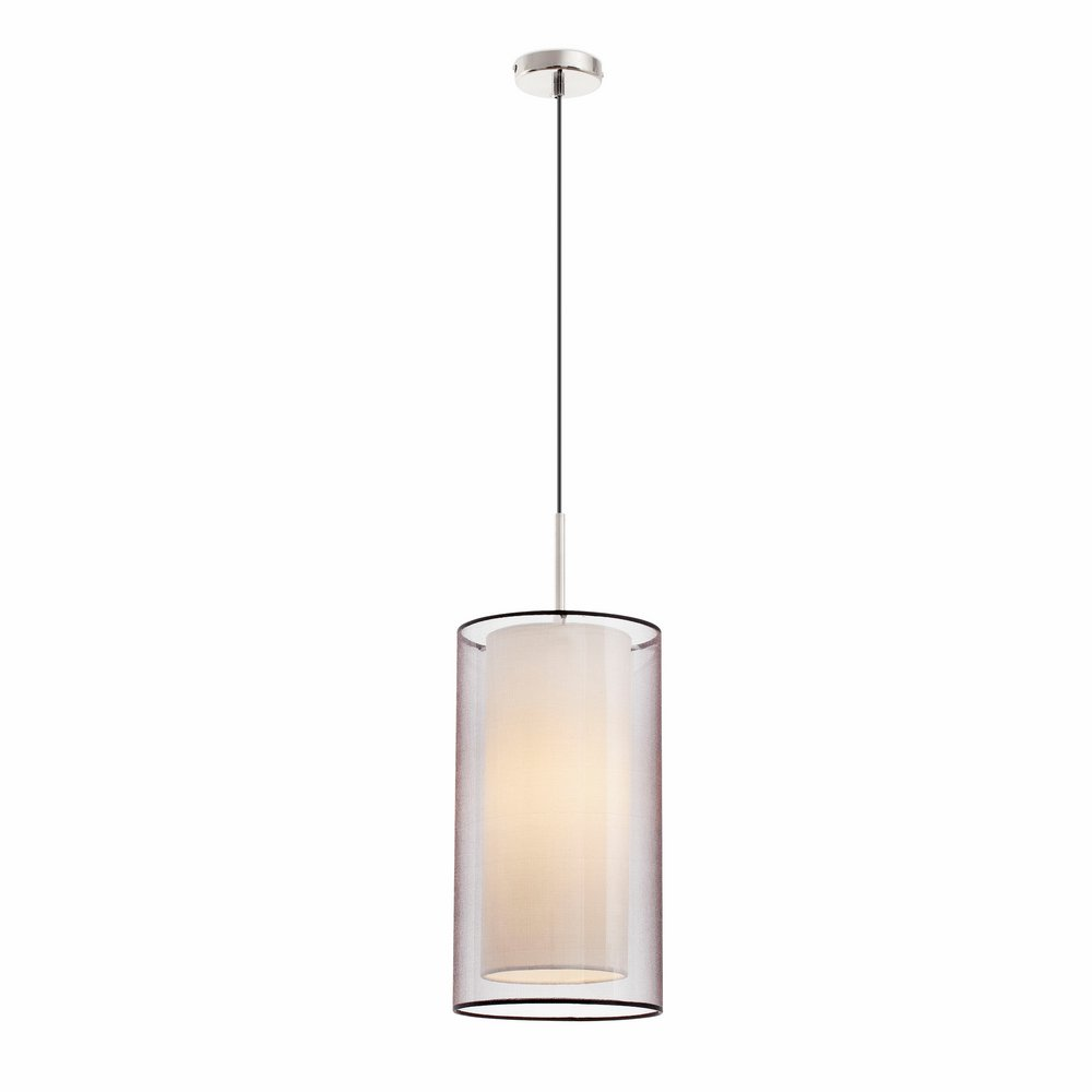 Saba Suspension níquel Mat E27 40w ø20