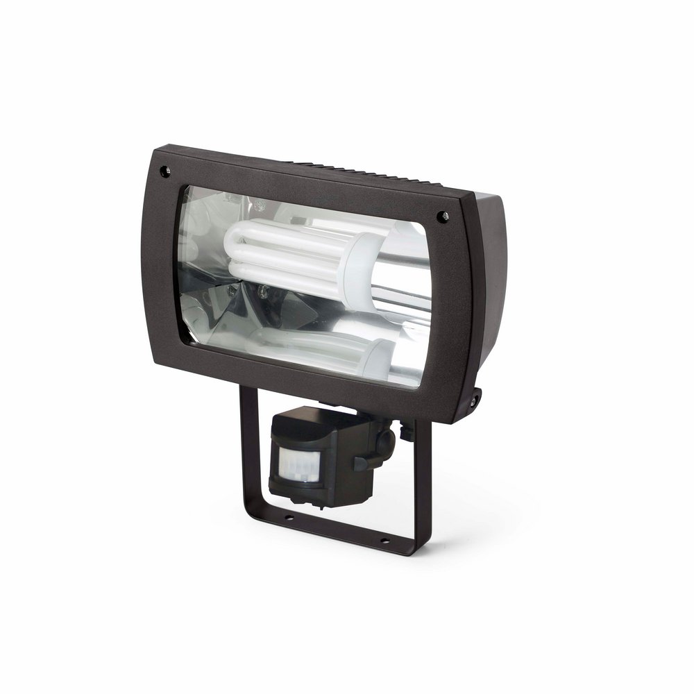 Madol projector Outdoor 1xE27 23w sensor with motion detector Black