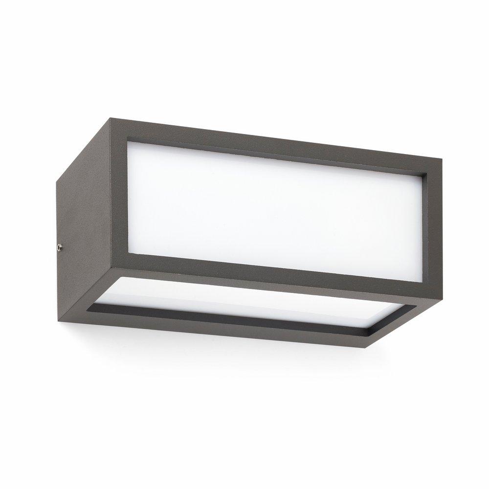 Tejo Wall Lamp Outdoor 1xE27 20w Grey Oscuro