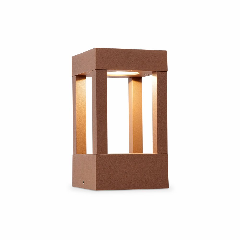 Agra Beacon Outdoor Brown LED 1x5w H 20 cmS