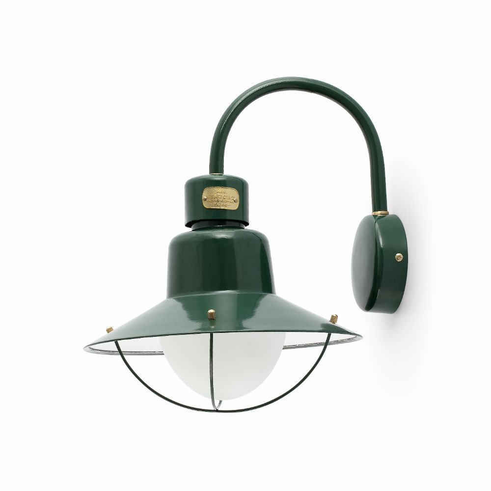 Newport Wall Lamp Outdoor 34,6cm E27 15w - Green
