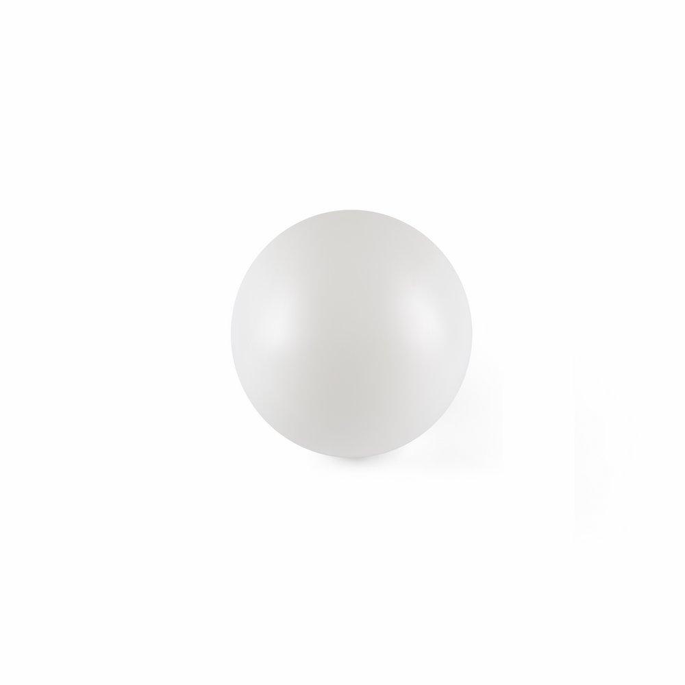 Moon Header for Streetlight white ø180