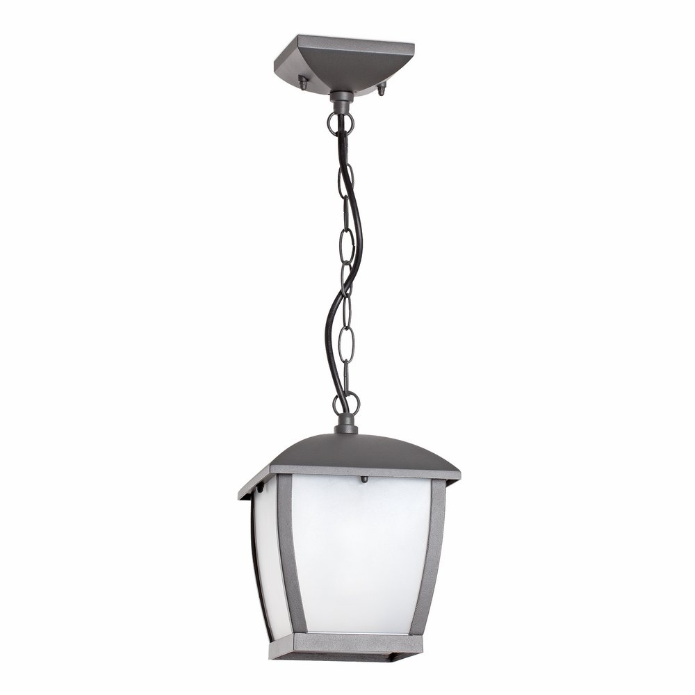 Mini Wilma Pendant Lamp 1xE27 11w Grey Oscuro