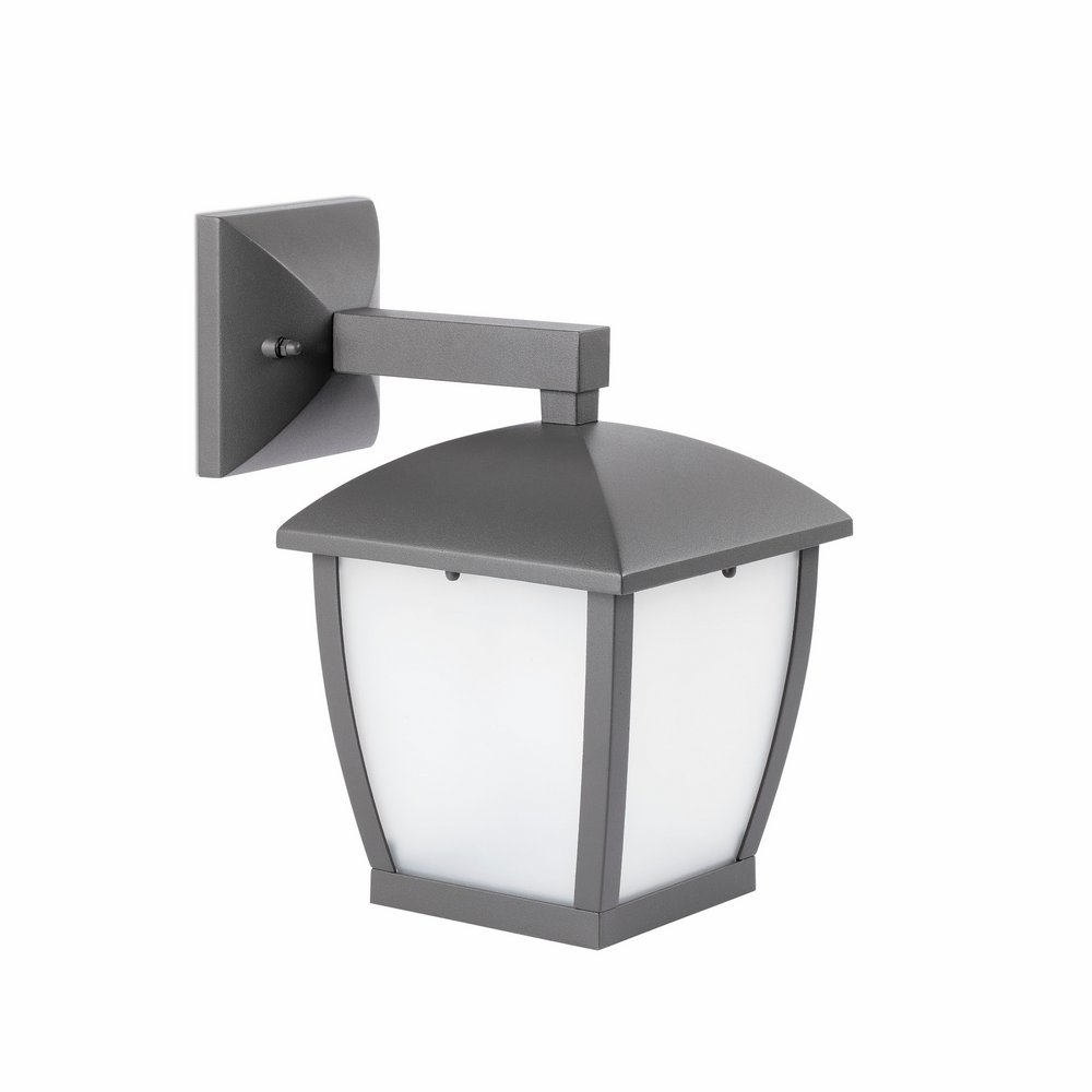 Mini Wilma Wall Lamp 1xE27 11w Grey Oscuro