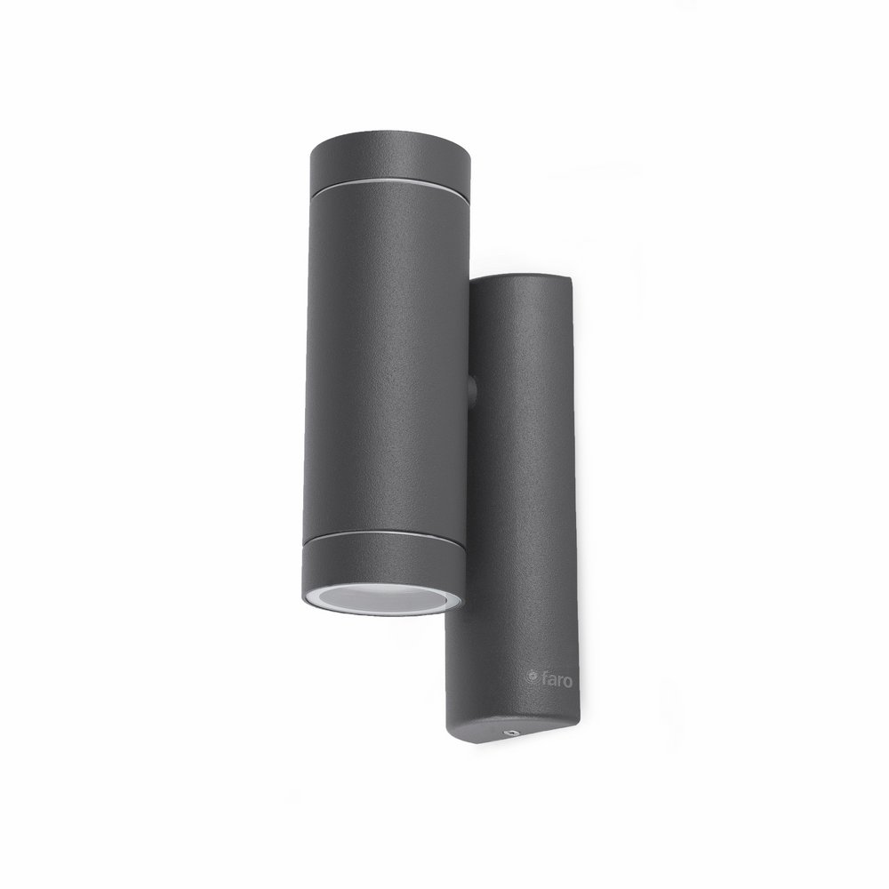 Steps Wall Lamp Outdoor Grey Dark 1xGU10 35w