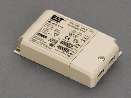 Reactancia electrónica para flurescentes 2x13w (Marca ELT)