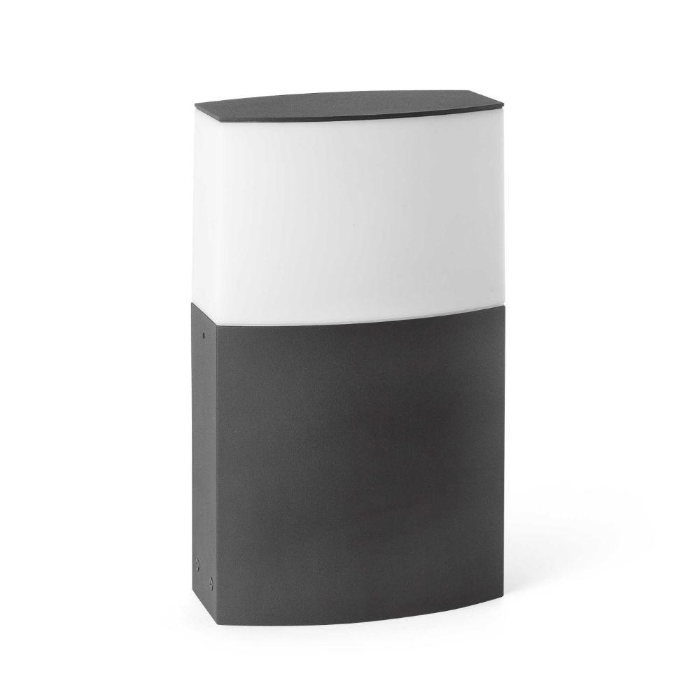 Datna Sobremuro 30cm E27 20w gris Oscuro
