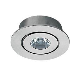 Circle Recessed LED 1W 5000K Aluminium