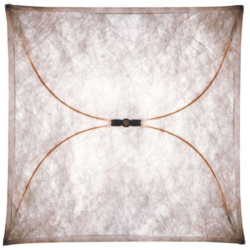 Ariette 1 Wall lamp 80cm 4x40W E27 Synthetic fabric