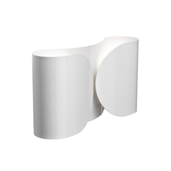Foglio Wall Lamp 2x100W E27 White