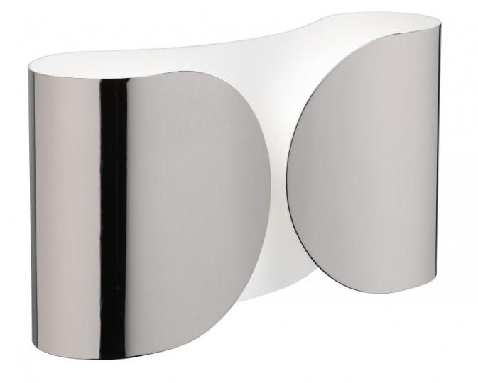 Foglio Wall Lamp 2x100W E27 Niquel