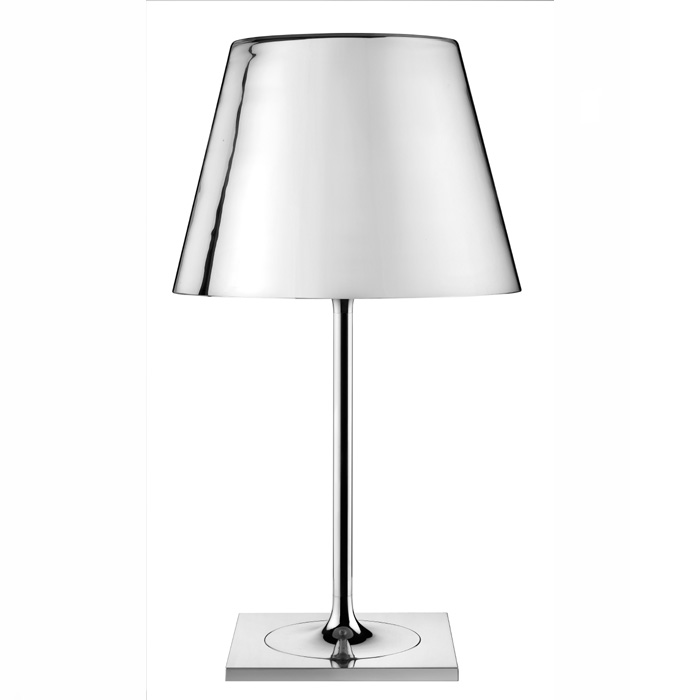 Ktribe t1 Table Lamp dimmer Glass Silver