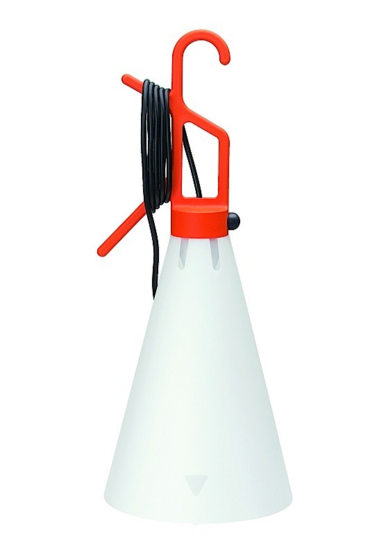 May Day Lampe multiuso orange