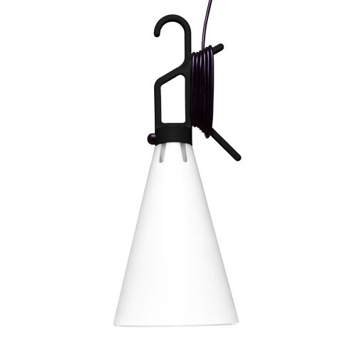 May Day Lamp multiuso Black