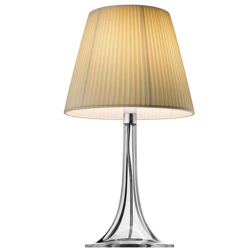 Miss K T Soft Table Lamp 70W E27 Diffuser Plisado Cream