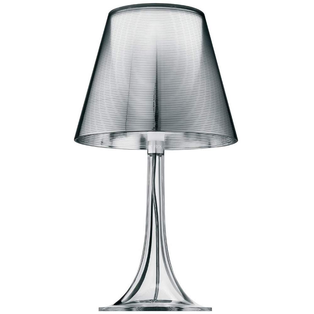 Miss K T Lampe de table E27 70w - Aluminizado Argent