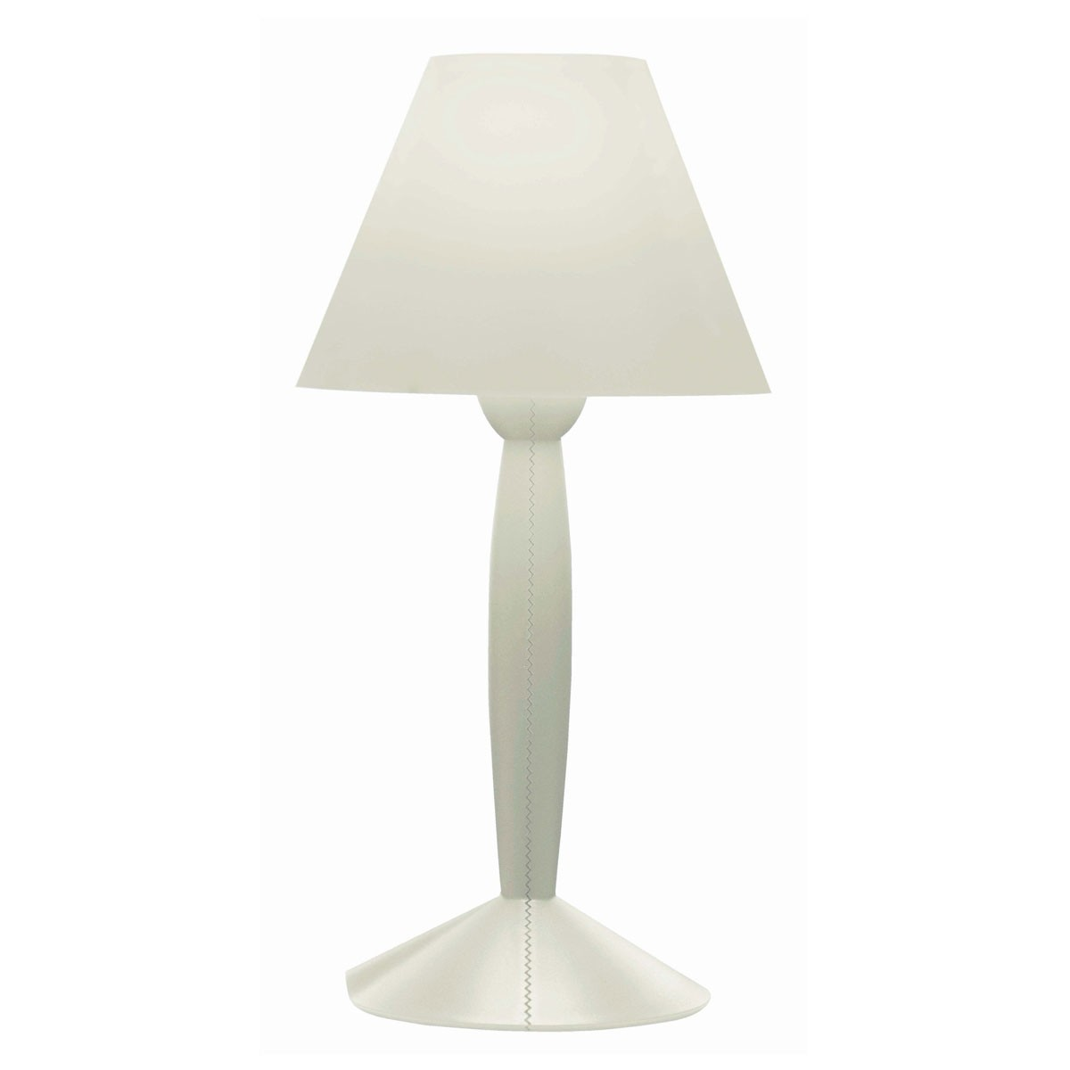 Miss Sissi Lampe de table blanc