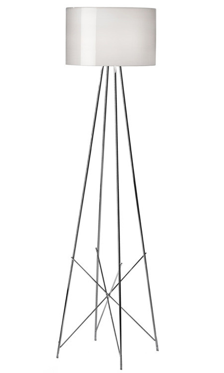Ray F2 lámpara of Floor Lamp 171cm E27 1x205w white