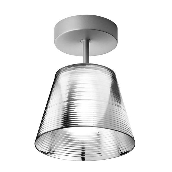 Romeo Babe K C ceiling lamp Aluminizado Silver