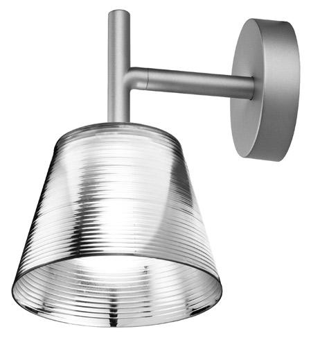 Romeo Babe K W Wall Lamp 33WG9 Aluminizado Silver