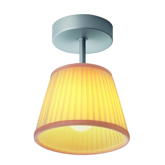 Romeo Babe soft C ceiling lamp Grey lampshade tela