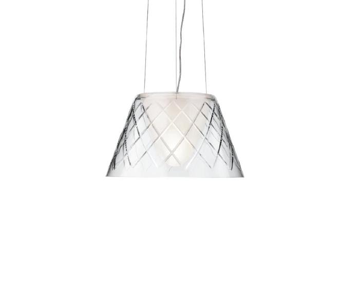 Romeo Louis II 1 Pendant Lamp ø34cm 150W E27 Glass soplado Amolado
