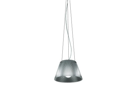 Romeo Moon T1 Lampe de table ø34cm 150W E27 Gris