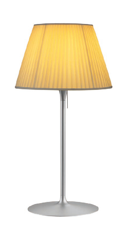 Romeo Soft T1 Table Lamp Grey ø34cm lampshade tela