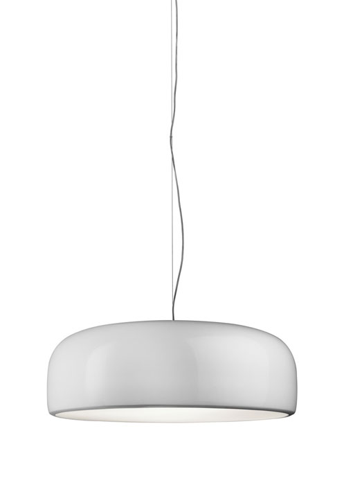 Smithfield S Eco Suspension dimmable ø60cm 2G11 2x36w blanc