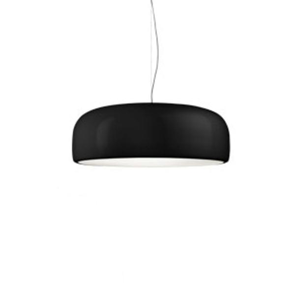 Smithfield S Eco Pendant Lamp dimmable ø60cm 2G11 2x36w Black