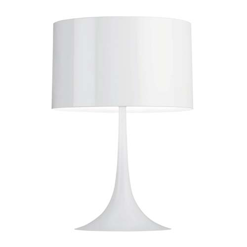 Spun light T1 white Table Lamp
