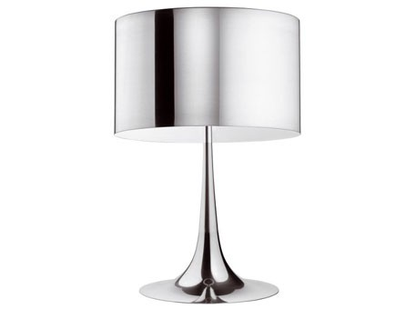 Spun light T1 Eco Aluminium pulido Table Lamp
