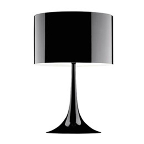 Spun light T1 Black Table Lamp