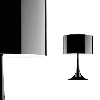 Spun light T2 Black Table Lamp