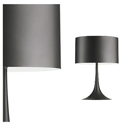 Spun light T1 Eco Grey Table Lamp