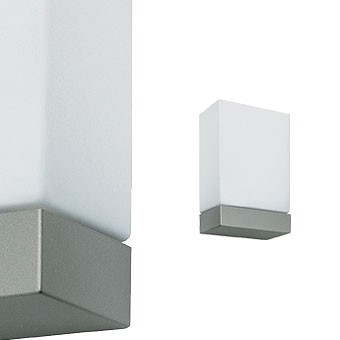 Tin square 1x100w Grey