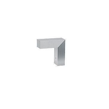 45 ADJ HIT 1 Baliza/Luz de parede 20x20cm PGJ5 1x20w Alumínio Anodizados