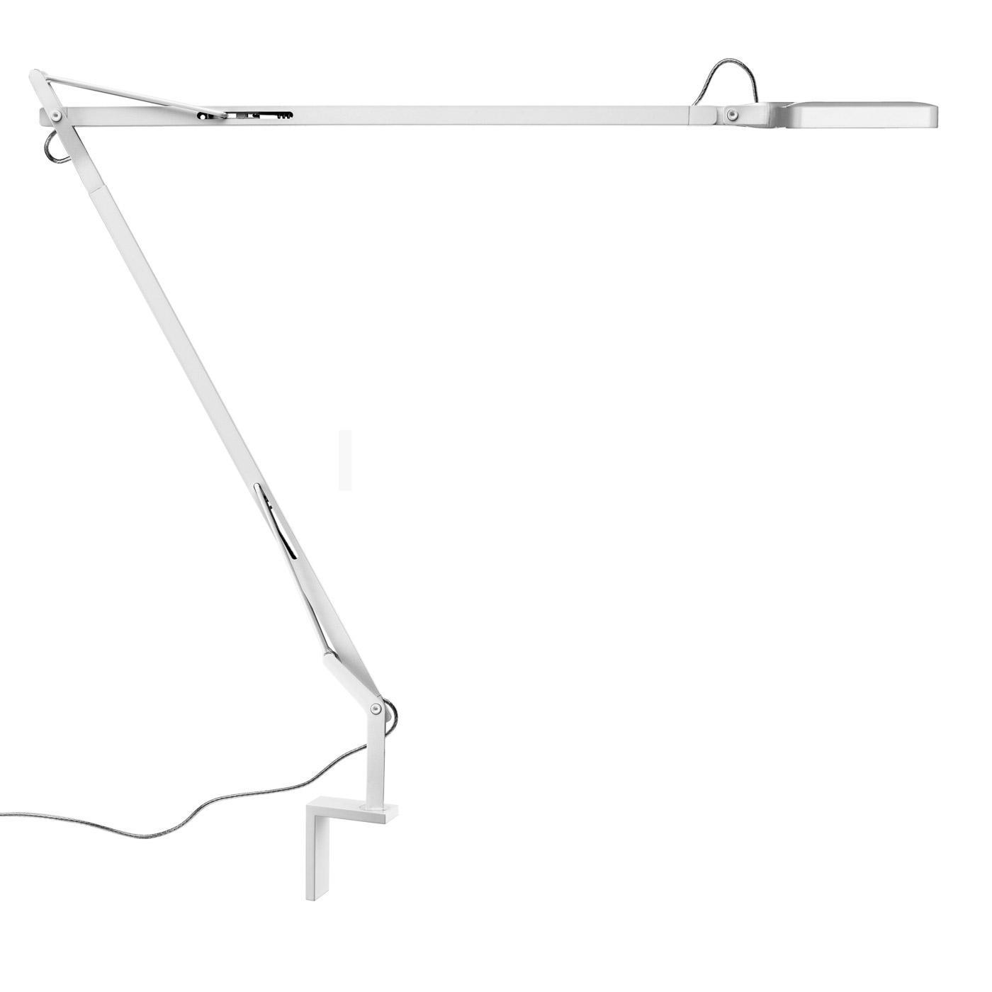 Kelvin LED Lamp Balanced-arm lamp with wall bracket anthracite